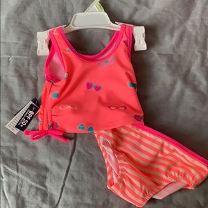 OshKosh brand new baby girl bathing suit